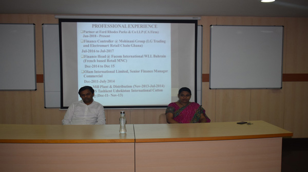 """Workshop on Corporate Valuation of Indian listed Company"""""""