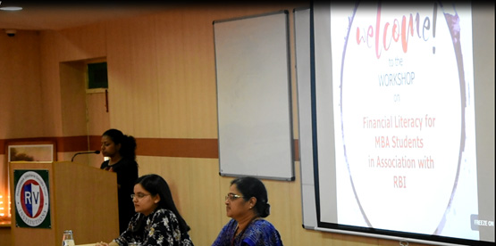 WORKSHOP ON FINANCIAL LITERACY FOR MBA STUDENTS